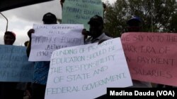 Zanga Zangar malamai a Abuja