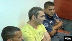 Aleksandar Cvetković u Okružnom sudu u Jerusalemu, 01. 08. 2011