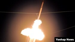지난 2011년 하와이에서 사드 발사 실험 장면.