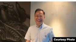 清華大學敢言學者許章潤教授 (圖片來源:許章潤朋友提供)