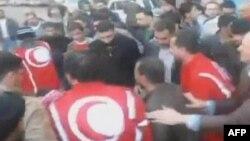 Protestat në Siri
