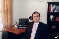 احمد فرید مطیع فرزند پروفیسور محمد حسن مطیع