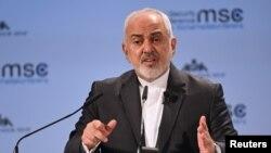 Джавад Зариф, министр иностранных дел Ирана