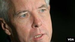 """Derham señaló que el gobierno de Estados Unidos se dirigirá de un modo """"adecuado y claro"""" a Venezuela cuando la situación """"lo merezca""""."""
