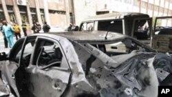 敘利亞調查人員星期五對發生在大馬士革自殺炸彈爆炸案進行調查