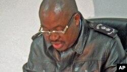 Comandante da Polícia do Namibe, Antonio Candela