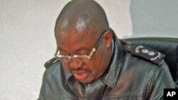 Comandante da polícia do Namibe, Antonio Kandela