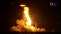 Phi thuyền NASA phát nổ khi vừa rời mặt đất
