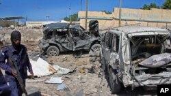 Somali, yon atak oto pyeje touye pou pipiti 10 moun.