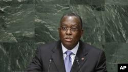 Manuel Vicente, vice Presidente de Angola, Assembleia Geral da ONU, Set. 29, 2014