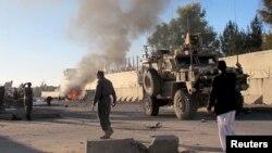 وسله والوطالبانو د یوې اونۍراهیسې د ګرشک په ولسوالۍکې په د افغان امنیتي ځواکونو پر پوستو بریدونه پیل کړي دي.