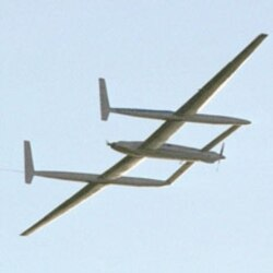 Voyager in flight