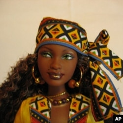 Even some Barbie dolls are decked out for Kwanzaa.