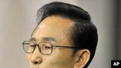 南韓總統李明博(資料圖片)