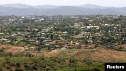 FILE - A general view of Moyale town in northeastern Kenya.