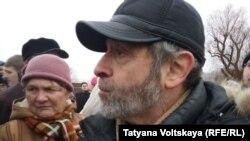 Один из организаторов митинга, депутат законодательного собрания Санкт-Петербурга Борис Вишневский
