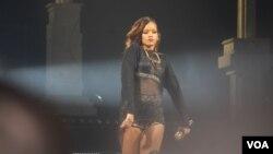"""""""Una artista increiblemente merecedora"""", dice el anuncio de MTV sobre el premio a Rihanna."""
