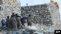 资料照片:中国军队从印中边境拉达克地区脱离接触(2021年2月16日)