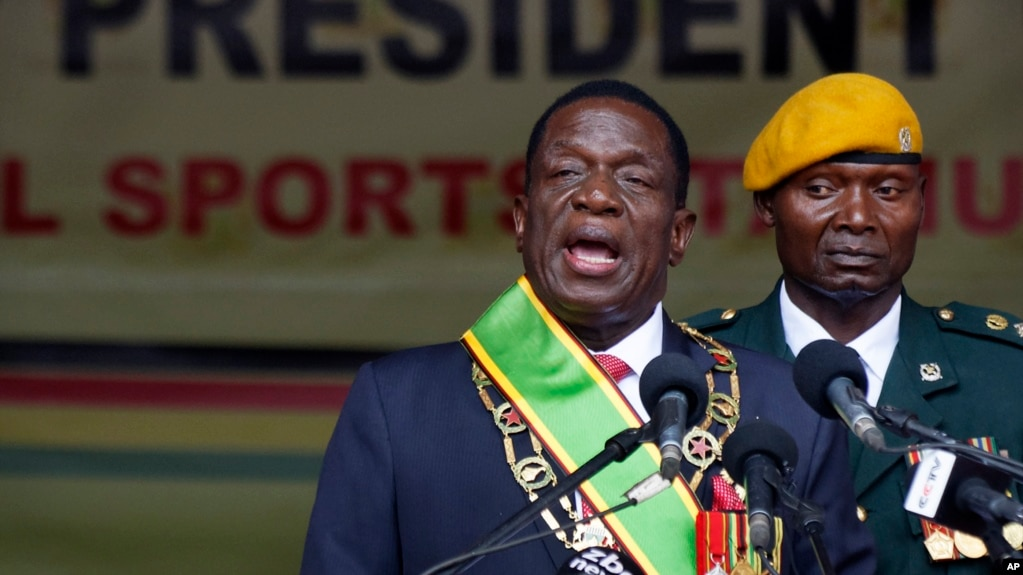 Billedresultat for zimbabwe new president