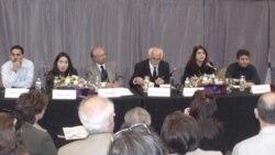 گزارشی از روز دوم همایش «فرهنگ آزادی های مدنی، حقوق بشر و دمکراسی در ایران»