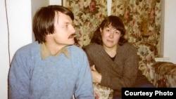 Андрей Тарковский и Ольга Суркова. Солсбери (Великобритания), октябрь 1983 г. Courtesy of Olga Surkova