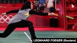 Soraya Aghaeihajiagha of Iran, Tokyo 2020 Olympics - Badminton - Women's Singles