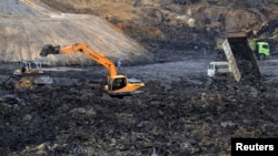 Tambang batu bara di Kalimantan. (Foto: Ilustrasi)
