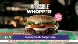 Bientôt le hamburger ne sera plus synonyme de malbouffe
