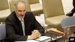 Dubes Suriah untuk PBB Bashar Ja'afari meminta Sekjen PBB Ban Ki-moon untuk membentuk misi teknis independen guna menyelidiki penggunaan senjata kimia oleh kelompok-kelompok teroris di Suriah (foto: dok).