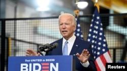 Makamu rais wa zamani wa Marekani na mgombea urais wa mwaka wa 2020 Joe Biden