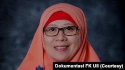 Dekan Fakultas Kedokteran (FK) UII, dr Linda Rosita, M.Kes., Sp.PK (K).