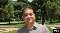 維族學者伊力哈木土赫提(資料圖片)