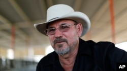 Hipolito Mora, salah satu pendiri salah satu kelompok yang memerangi para penyelundup narkoba.