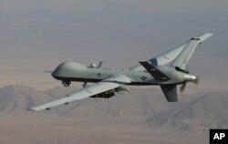 미 공군의 무인공격기 MQ-9 '리퍼'. (자료사진)