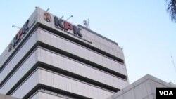 Gedung KPK di Jakarta.