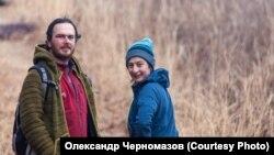 Олександр Черномазов із дружиною Еллою Маламуд