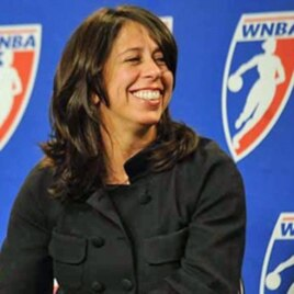 Donna Orender, who retired as WNBA commissioner after last season, said the best available coaches should be hired, period.