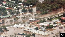سیلاب کے بعد ریاست کوئینز لینڈ کا وسیع رقبہ زیر آب آ گیا تھا۔ (فائل فوٹو)