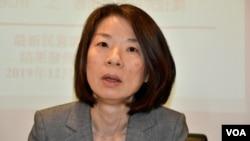香港大學政治與公共行政學系教授李詠怡表示,要解開香港因為修訂逃犯條例 引起的死結,最重要是北京調整對港政策。(美國之音湯惠芸)