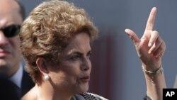 Presiden Brazil, Dilma Rousseff dituduh memanipulasi angka-angka untuk membuat defisit anggaran negara lebih rendah daripada yang sebenarnya (foto: dok).