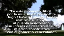 Ola de luto por muerte de Presidente Chávez