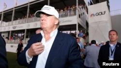 Donald Trump dice que si votan por él para presidente de EE.UU. las compañías estadounidenses dejarán de irse al exterior.