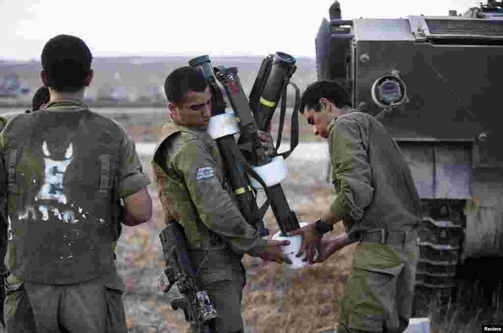 غزہ میں حماس کے خلاف کارروائی پر مامور اسرائیلی فوجی