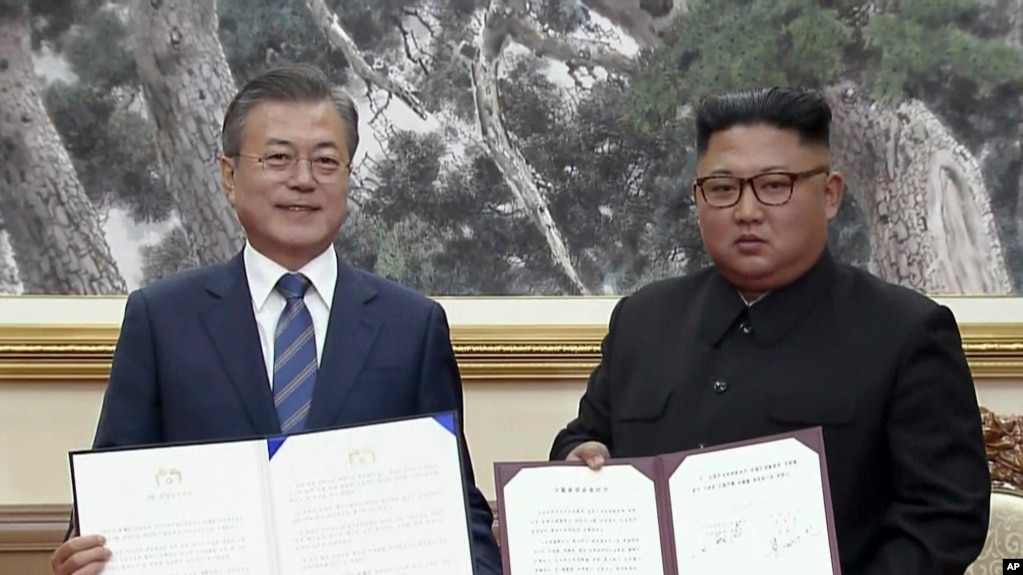 Cautious Optimism Ahead Of Inter Korean Joint Military Agreement