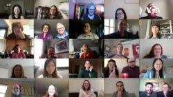 纽约的新冠社区合唱团通过视频将隔离的歌声连在一起