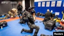 """Australijska policija sprovodi """"operaciju Ajronsajd"""" - akciju protiv organizovanog kriminala (Foto: Reuters/Australian Federal Police)"""
