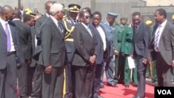 President Mugabe At Heroes Acre