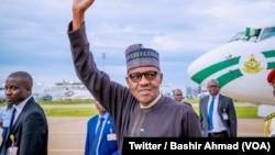 무함마드 부하리 나이지리아 대통령 (자료사진)