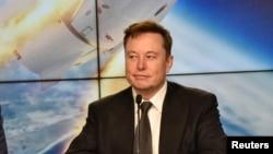 19 Ocak 2020 - Tesla'nın CEO'su Elon Musk