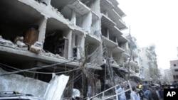 Ledakan bom mobil sudah menjadi gambaran biasa di Suriah. Analis mengatakan rezim Suriah sudah diambang kerunutuhan (foto:dok)